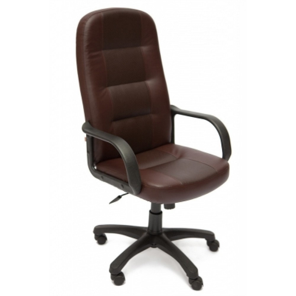 Кресло компьютерное Дэвон (Devon) — коричневый/коричневый перфорированный (36-36/36-36/06)