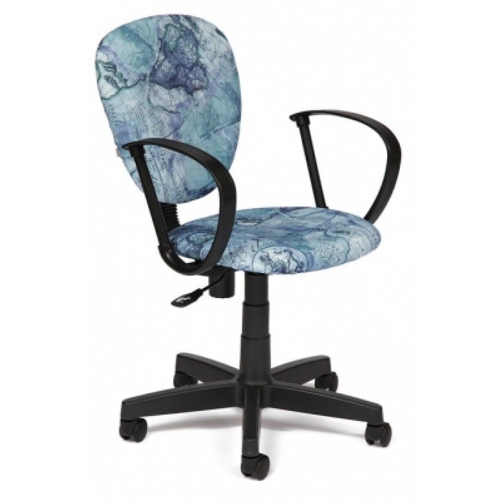 """Кресло СН413 — принт """"Карта на синем"""""""