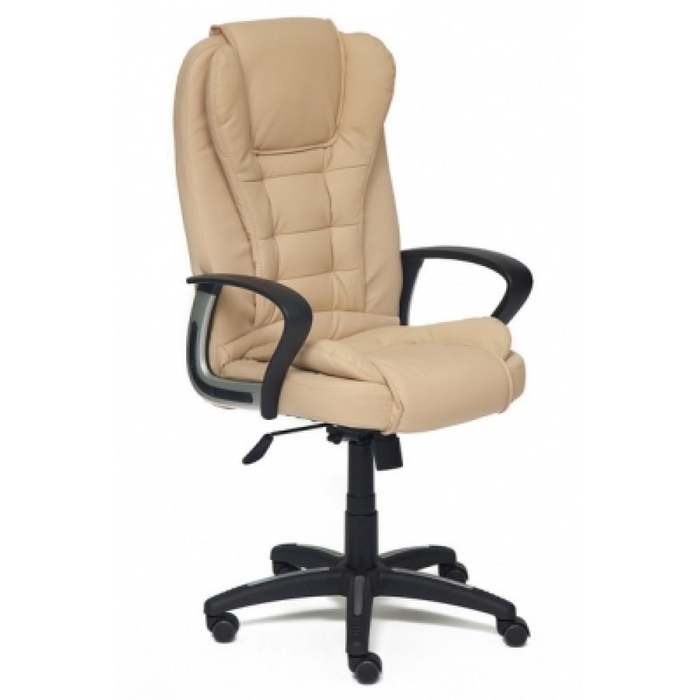 Кресло компьютерное Барон (BARON) — бежевый/бежевый перфорированный (36-34/36-34/06)