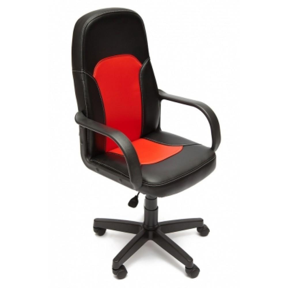Кресло компьютерное Парма (Parma) — черный/красный (36-6/36-161)