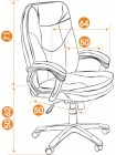 Кресло компьютерное Комфорт (Comfort) — коричневый