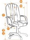 Кресло СН833 — серый (207)