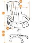 Кресло СН888 — серый (207)