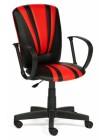 Кресло компьютерное Спектрум (Spectrum) — черный/красный (36-6/36-161)