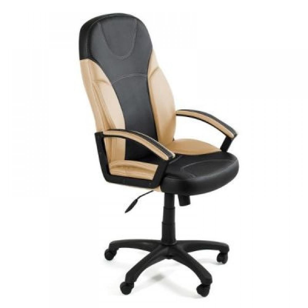 Кресло компьютерное Твистер (Twister) — черный/бежевый (36-6/36-34)