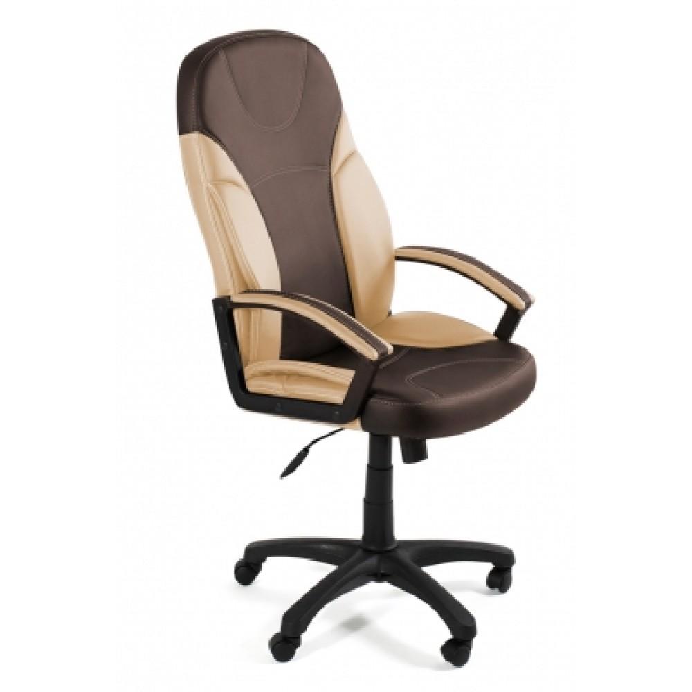 Кресло компьютерное Твистер (Twister) — коричневый/бежевый