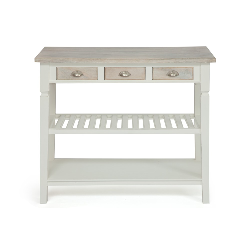 Консоль Secret De Maison Ривьера (RIVIERA) ( mod.2274 ) — Antique white/white wash