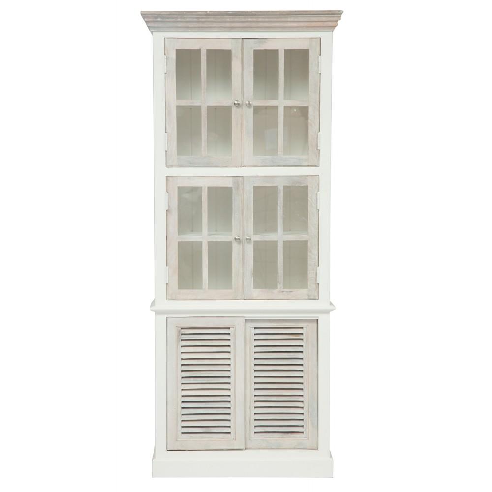 Шкаф книжный Secret De Maison Ривьера (RIVIERA) ( mod.2318А ) — Antique white/white wash