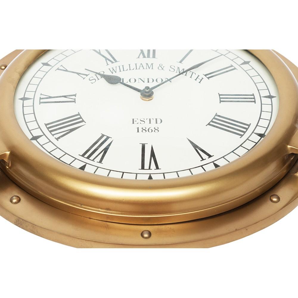 Часы иллюминатор Secret De Maison ( mod. 46696 ) — античная медь