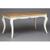 Стол Secret De Maison Бордо (BORDEAUX)  (mod.T9132) — груша/белый (butter white)