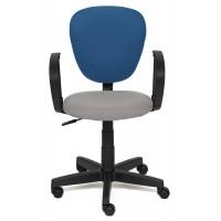 Кресло СН413 — серый/синий (С27/С24)