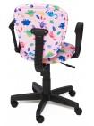 """Кресло СН413 — принт """"Динозаврики на розовом"""""""