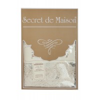 Courvoisier | Подарочный комплект Курвуазье ( cкатерть круглая 150 см + 4 салфетки )