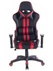 Кресло iИкар (Car) — черный/красный