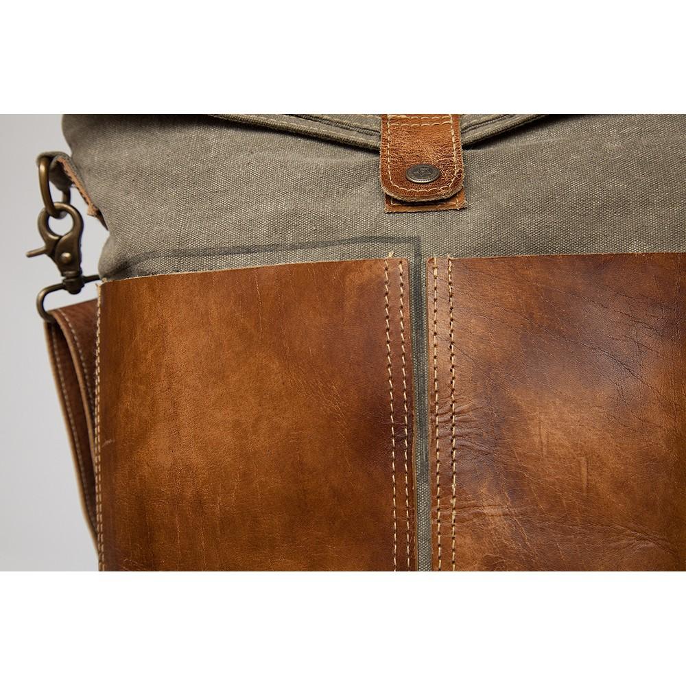 Сумка Secret De Maison LAMBALLE ( mod. M-10653 ) — коричневый (ткань: винтаж)