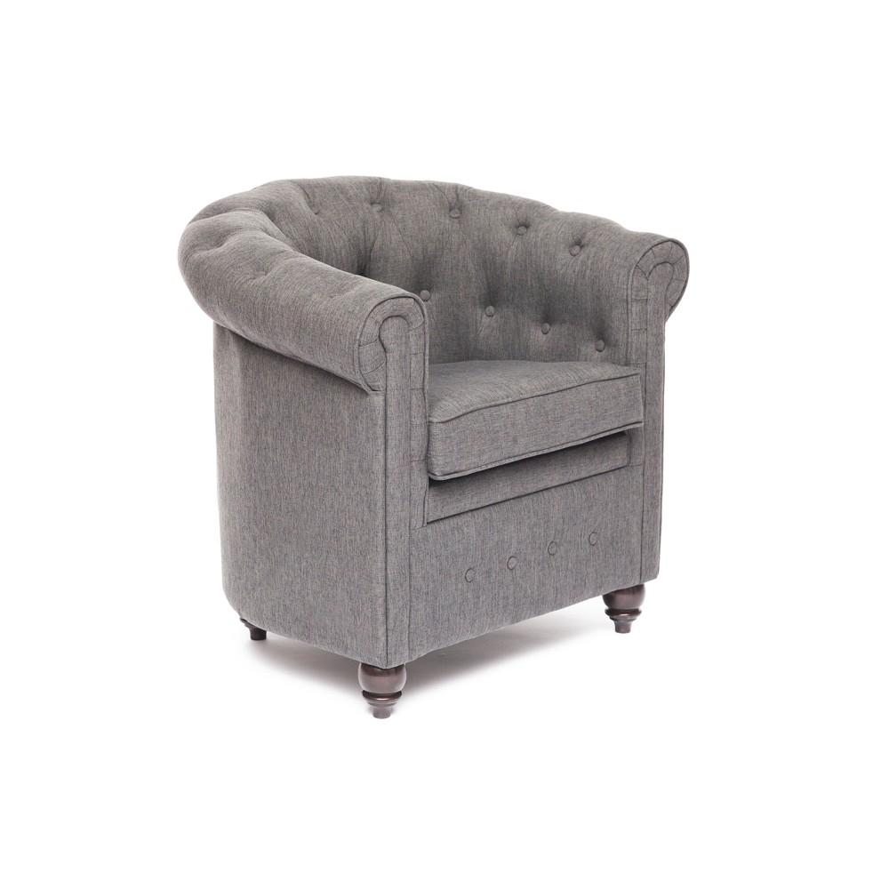 Кресло Secret De Maison London (Лондон) 5094.11  grey — Темный орех (Cappuchino)