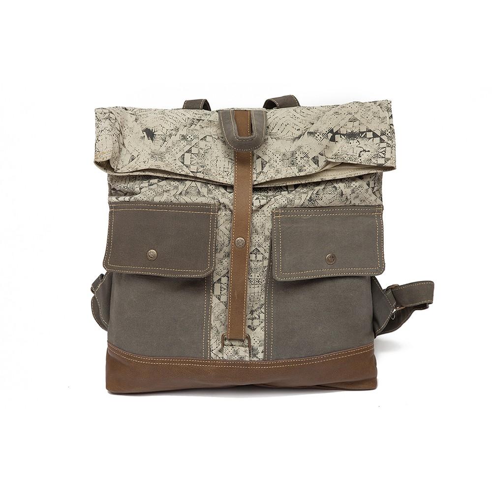 Рюкзак Secret De Maison MACON ( mod. M-10657 ) — рисунок (ткань: винтаж)