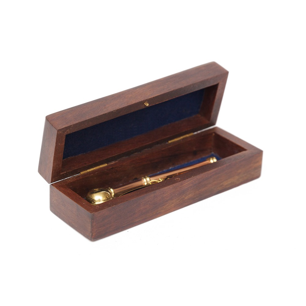 Боцманский свисток в подарочной деревянной коробке Secret De Maison ( mod. N1184 ) — античная медь