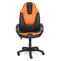 Кресло Нео (NEO) (1) — черный/оранжевый (36-6/14-43)
