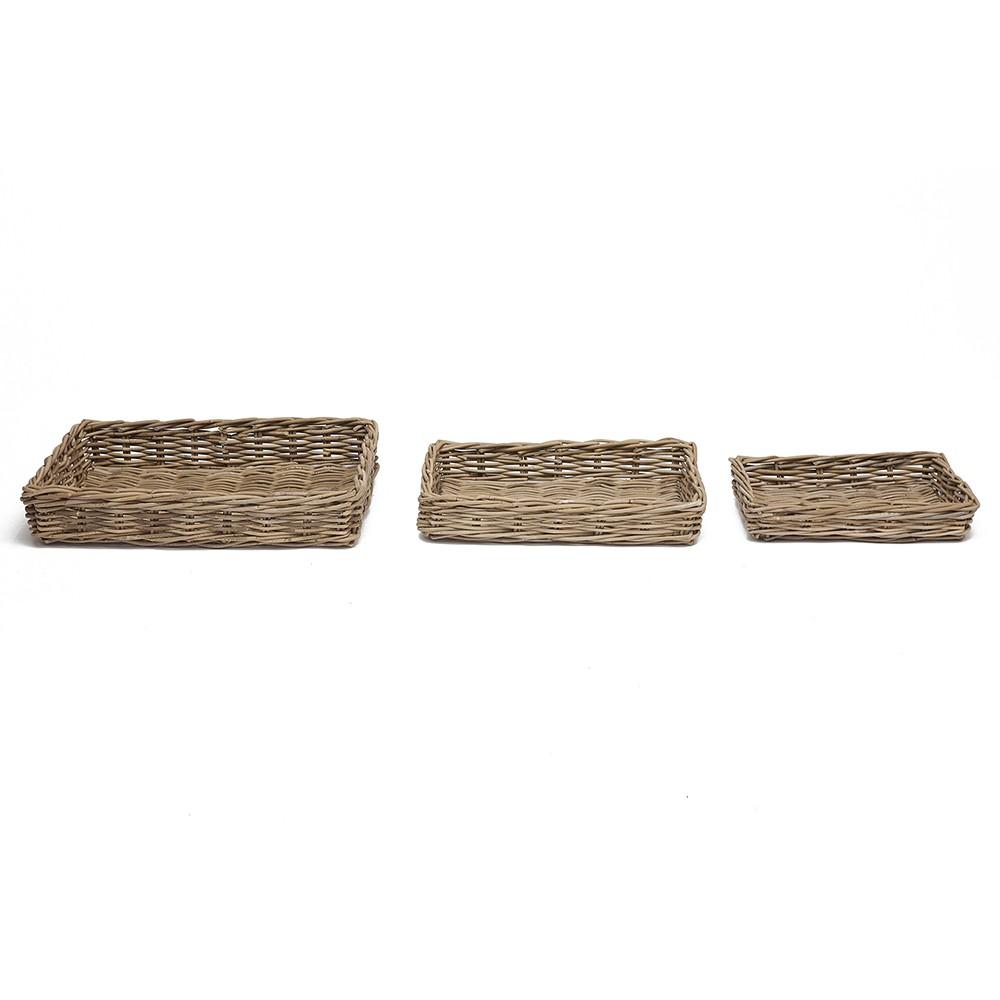 Корзина Secret De Maison Нумбаи (Numbai) (набор из 3 штук ) — Натуральный Кубу / Natural Kubu