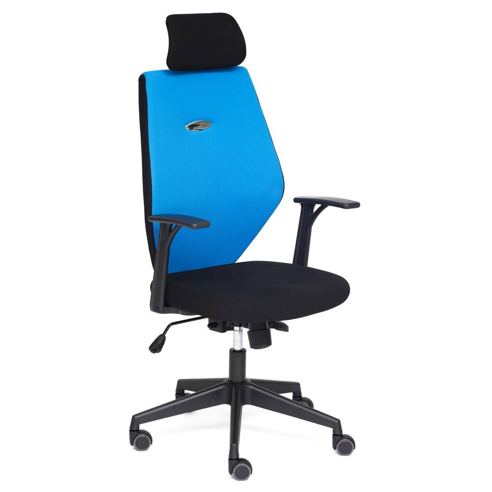 Кресло Ринус (RINUS)-6 — черный/синий (OН205/OH208)