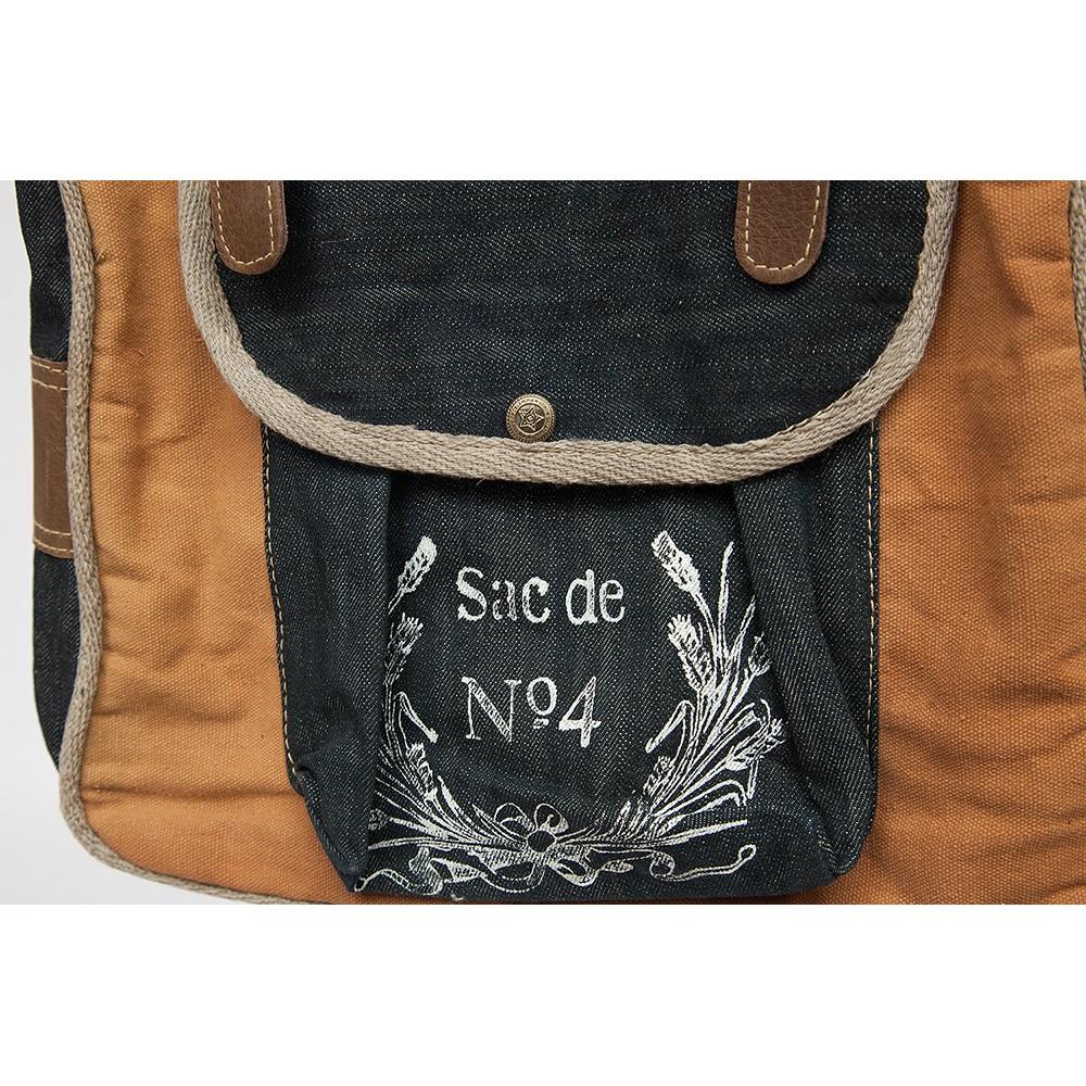 Рюкзак Secret De Maison RIVOLI ( mod. M-11160 ) — коричневый (ткань: винтаж)