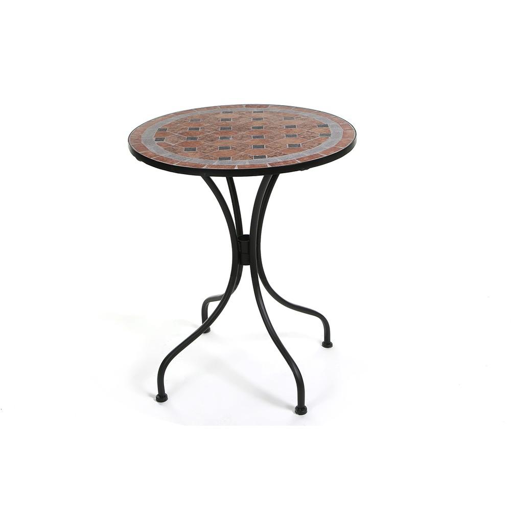 Стол Secret De Maison Ромео (Romeo) — черный/ плитка квадрат
