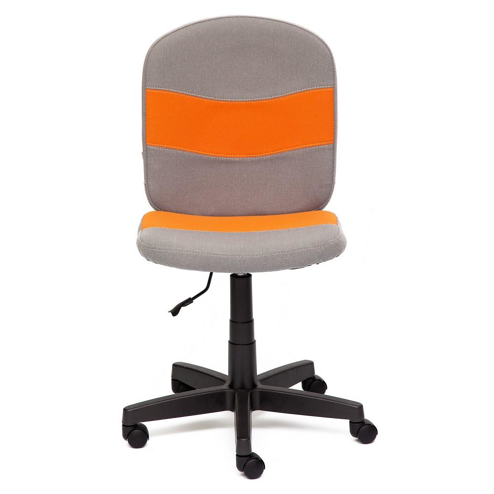 Кресло Степ (STEP) — серый/оранжевый (С27/С23)