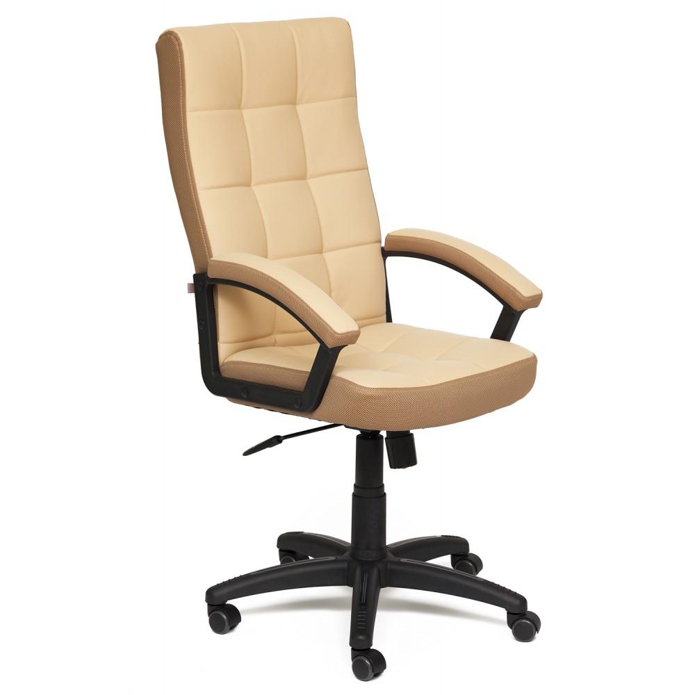 Кресло Тренд (TRENDY) — бежевый/бронзовый (36-34/21)