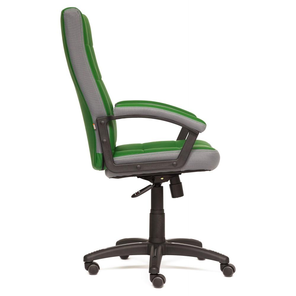 Кресло Тренд (TRENDY) — зеленый/серый (36-001/12)