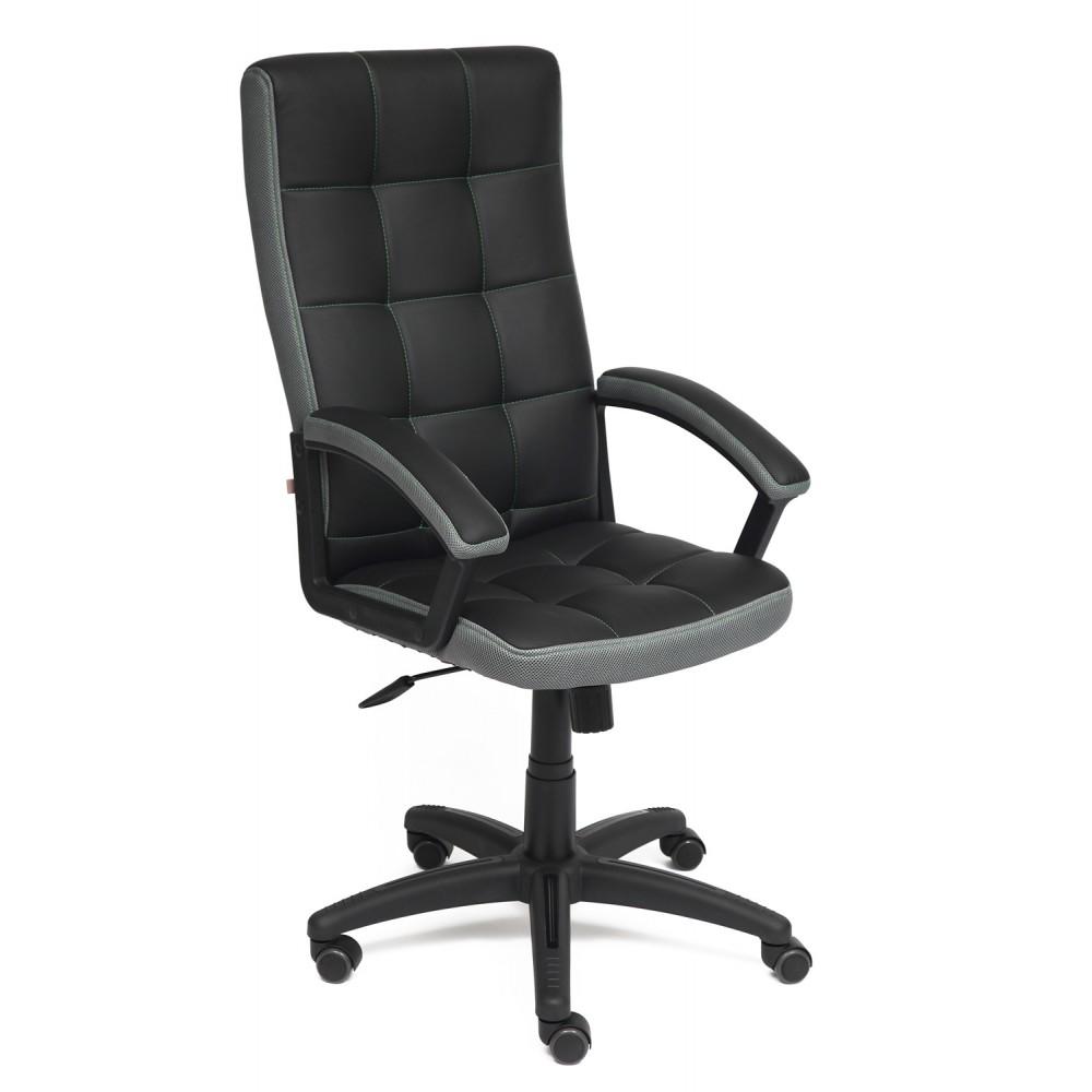 Кресло Тренд (TRENDY) — черный/серый (36-6/12)