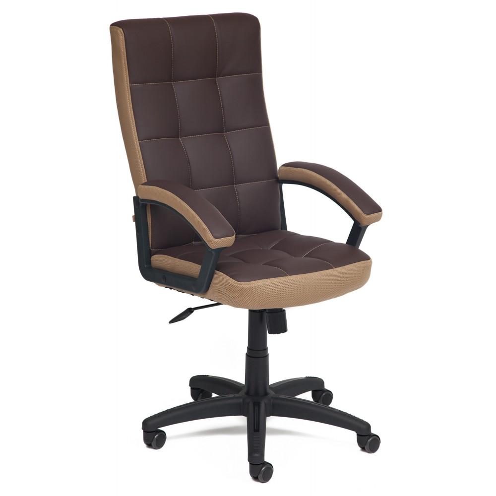 Кресло Тренд (TRENDY) — коричневый/бронзовый (36-36/21)