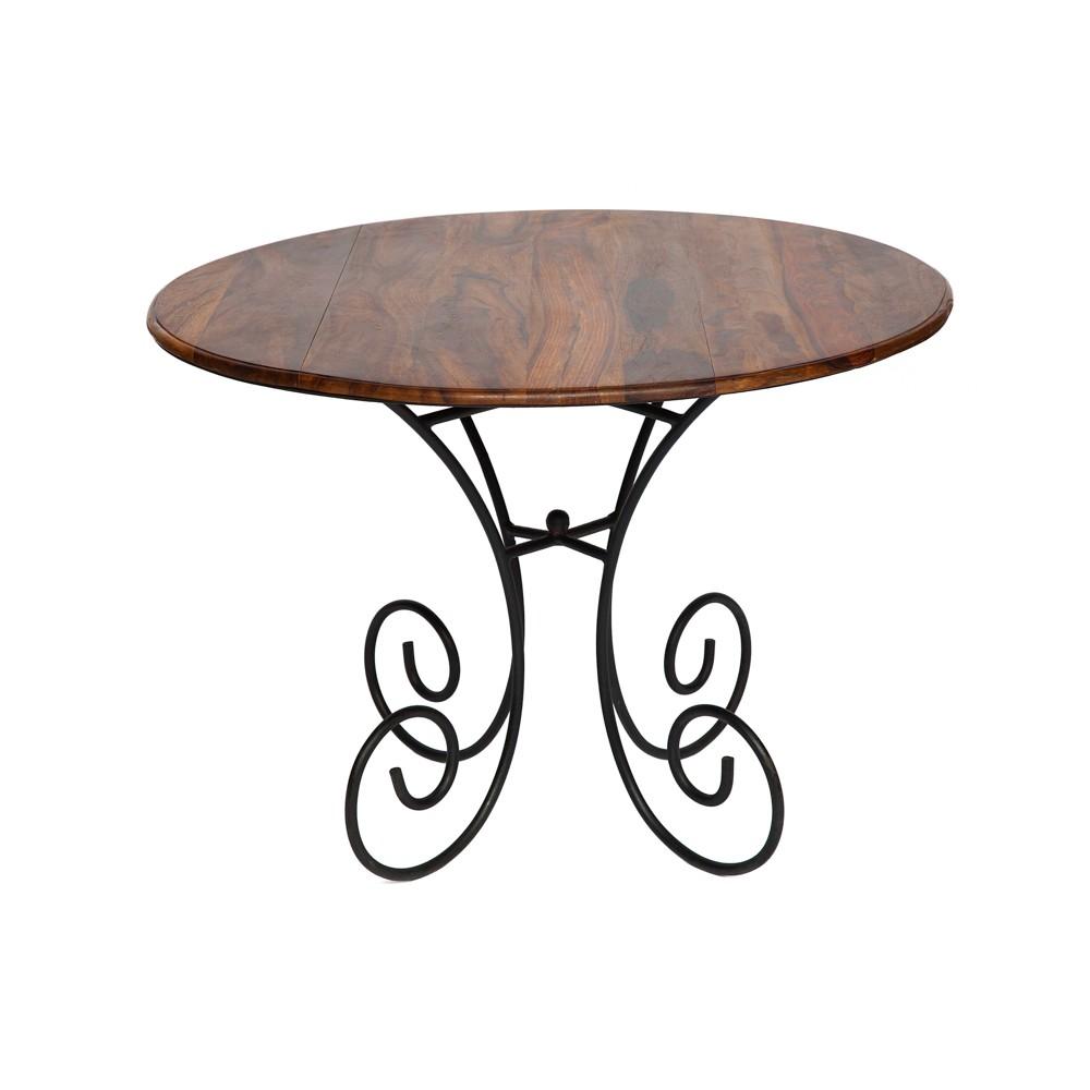 Обеденный стол Secret De Maison Люберион (Luberon) (mod 8) — дерево палисандр/металл