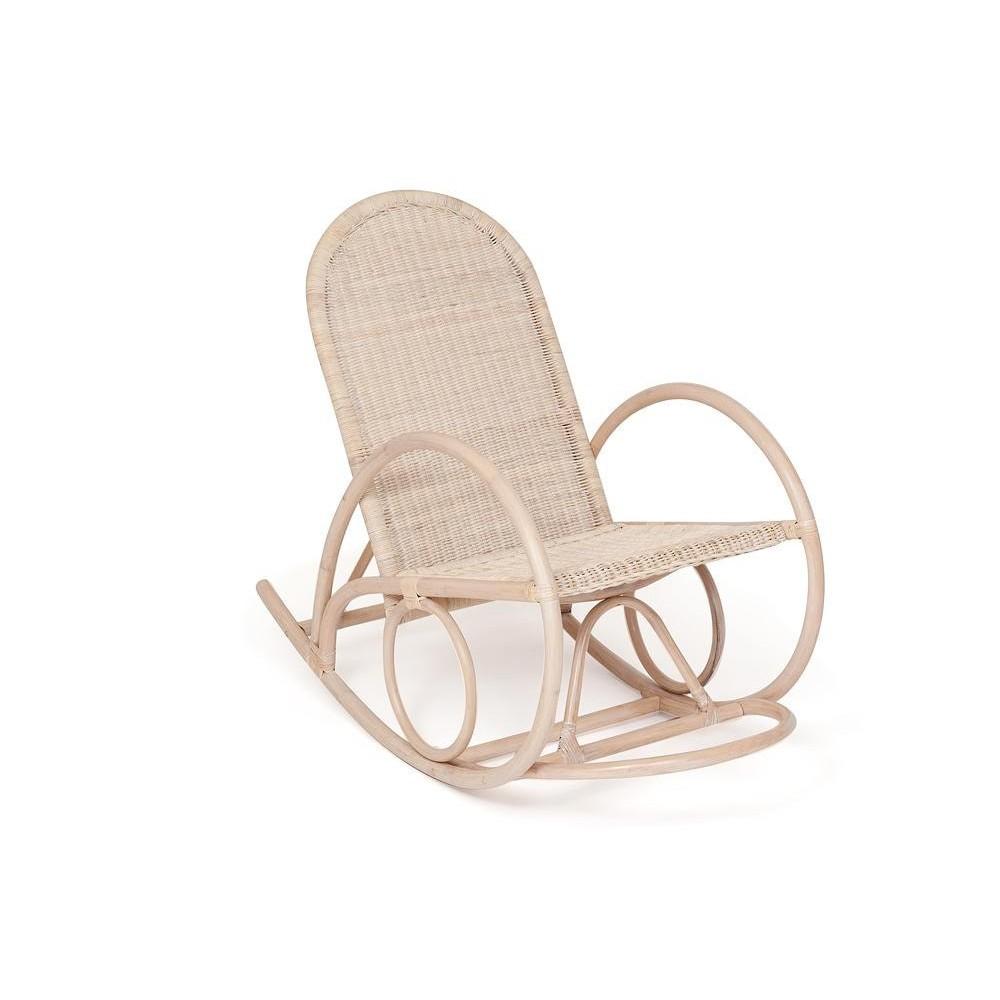 Кресло-качалка ROCCO (5704/KD) Античный белый