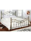 Кровать металлическая BD-604 Queen Bed (160*200см), Античный никель (Antique Nikel)