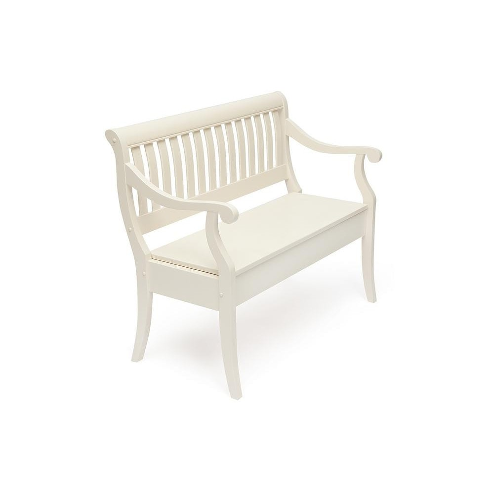 Скамейка MEDICHI (Медичи) pure white (402)