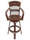 Комплект Барный Andrea (стол +2 стула) Pecan Washed (античн. орех)