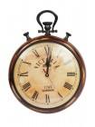 Настенные часы # 2292 сплав алюминий/латунь, дерево, Античная медь (Antiqui Brass)