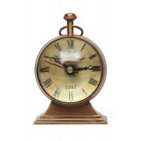 Настольные часы # 5577 латунь, Античная медь (Antiqui Brass)