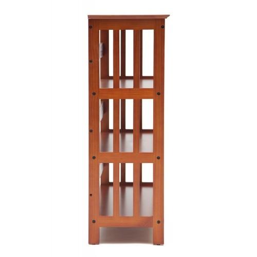 Этажерка деревянная NY-3006 Орех
