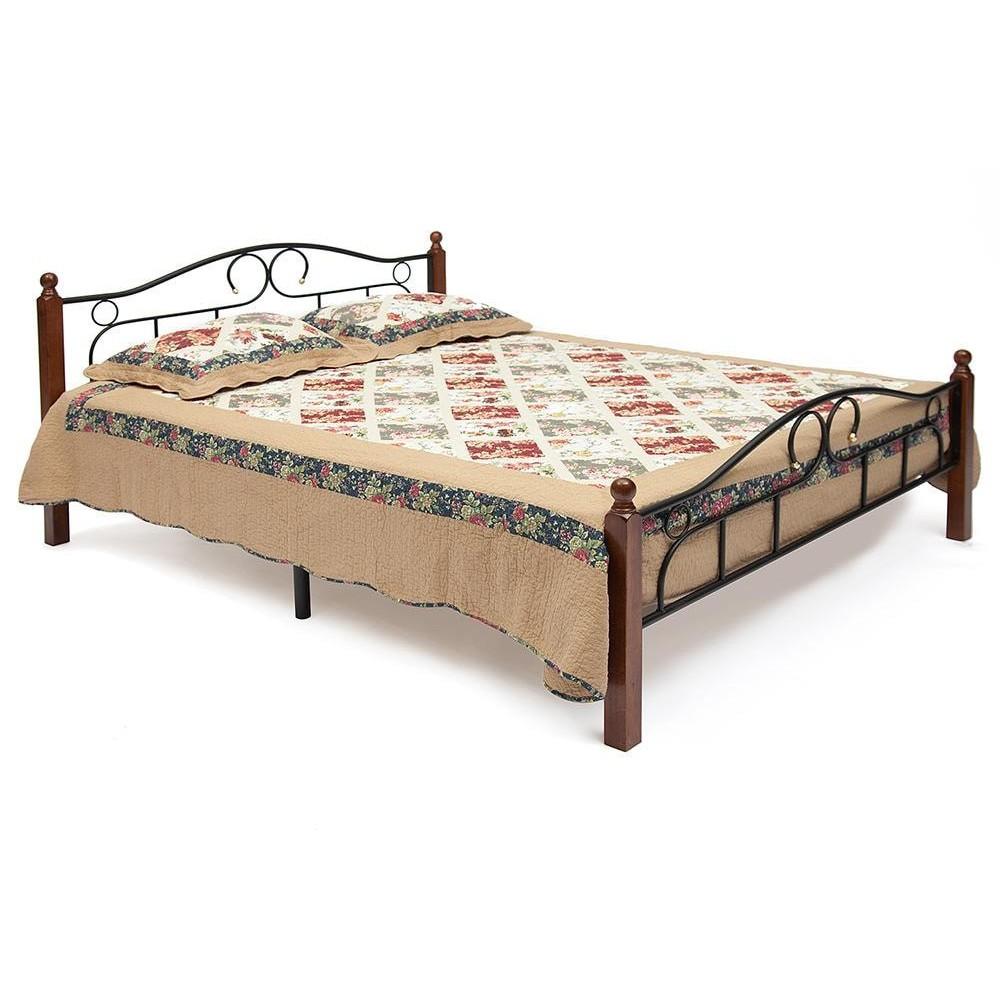 Кровать AT-808 WB Деревянная решетка, 160*200 см (Queen bed)