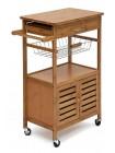 Передвижной кухонный разделочный столик SN-0911 натуральный (natural)