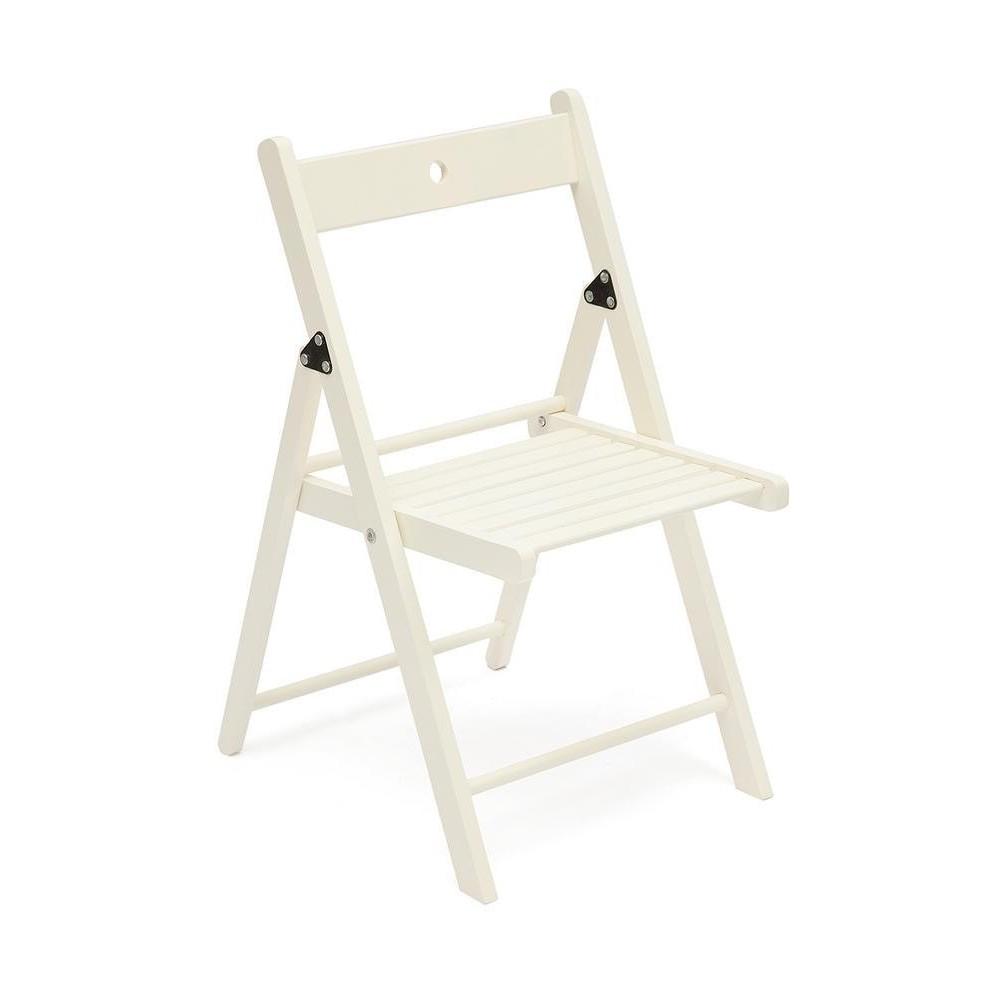 Складной стул SN-3601 белый