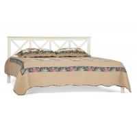 Francesca - кровать деревянная Double Bed Size, 140*200 см, белый