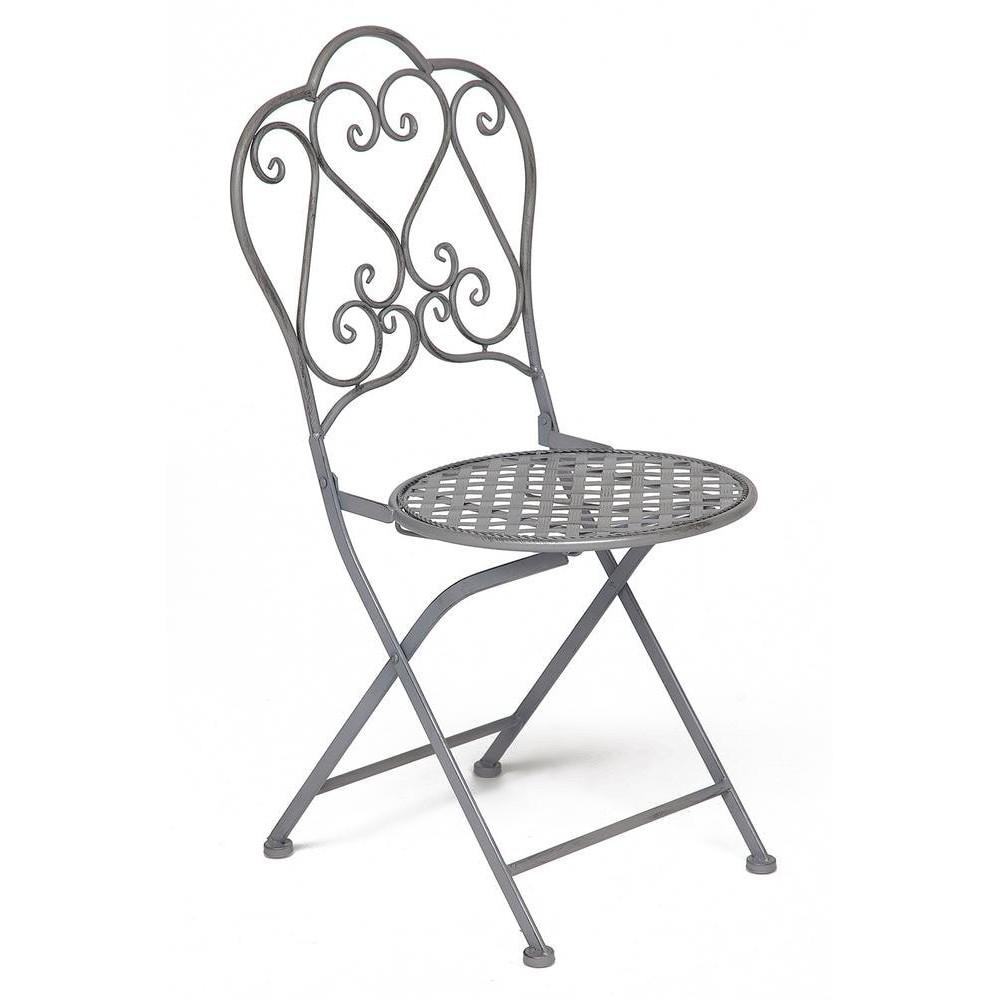 Стул Secret De Maison Love Chair стальной сплав, Серый/grey