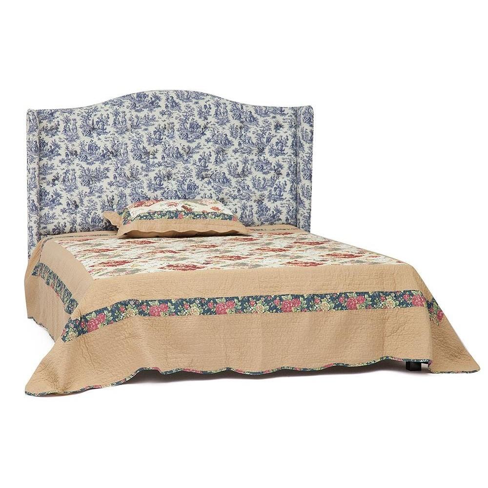 Кровать Jouy (Жуи) 6664 1600х2000, венге, Синий Жуи P03