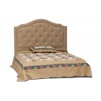 Кровать Secret De Maison Lorena (Лорена) 6375 дерево гевея, ткань: полиэстер/хлопок, 160х200см, Cappuchino , бежевый