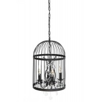 Люстра Secret De Maison 191-4 металл/стекло, черный рустик / black Rust, кристаллы