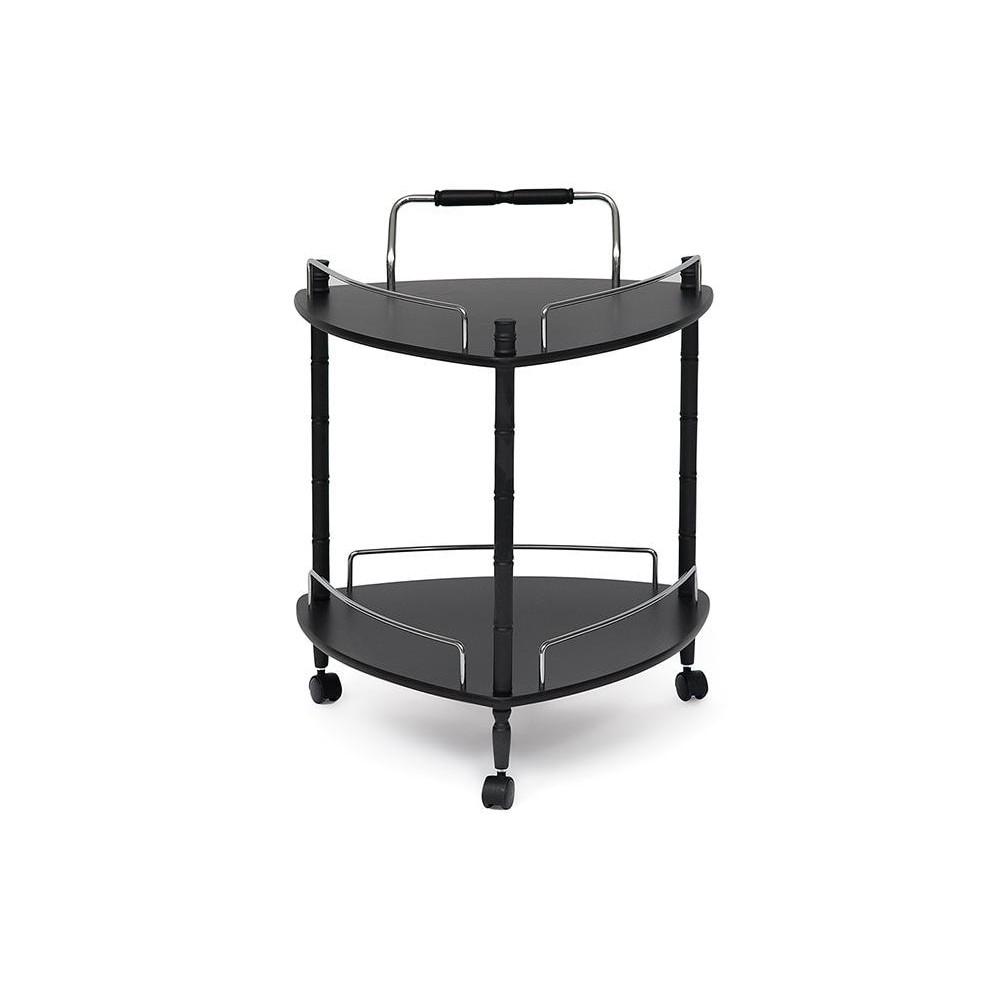 Сервировочный столик 690035K Черный