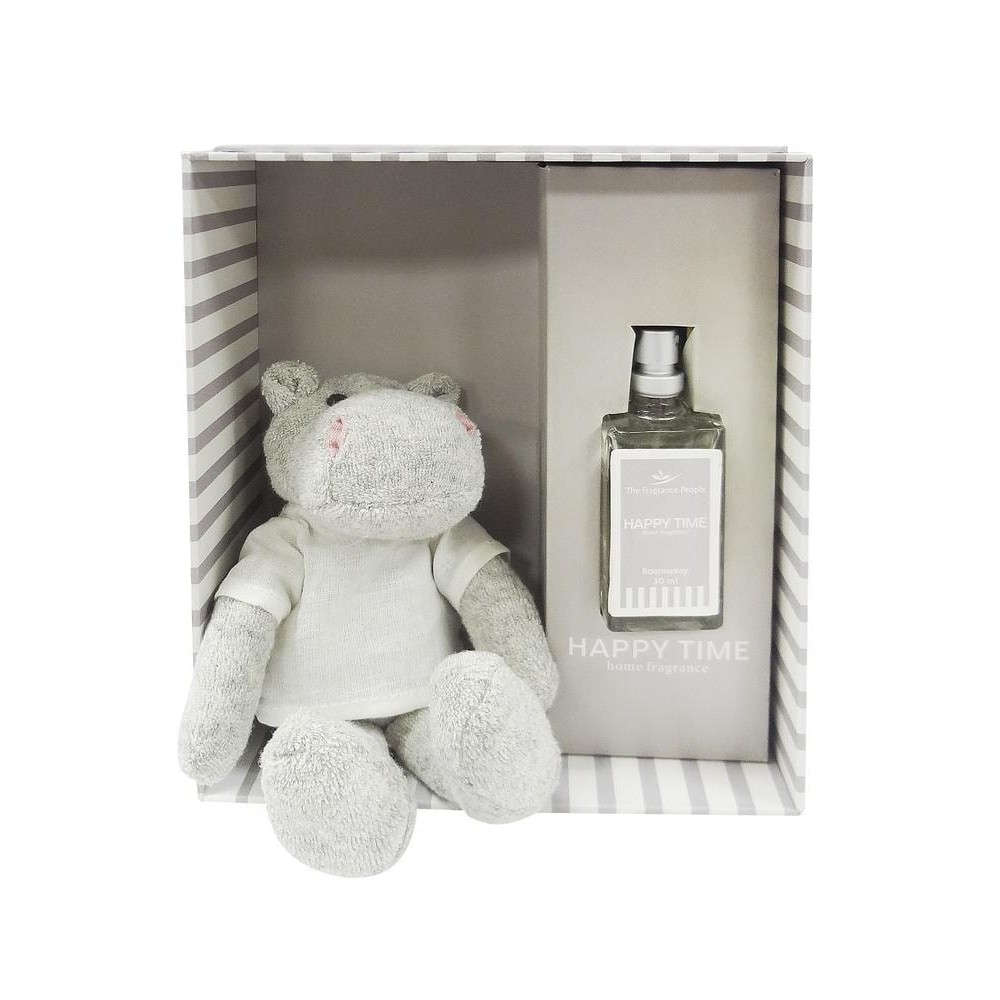 Подарочный ароматический набор Secret De Maison Grey Hippo ( mod. TFP 125GF ) текстиль/стекло, 17,2х19,5х7,2см, серый